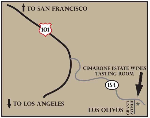 Cimarone and 3CV Los Olivos Wine Tasting Room - Santa Ynez Valley Wineries